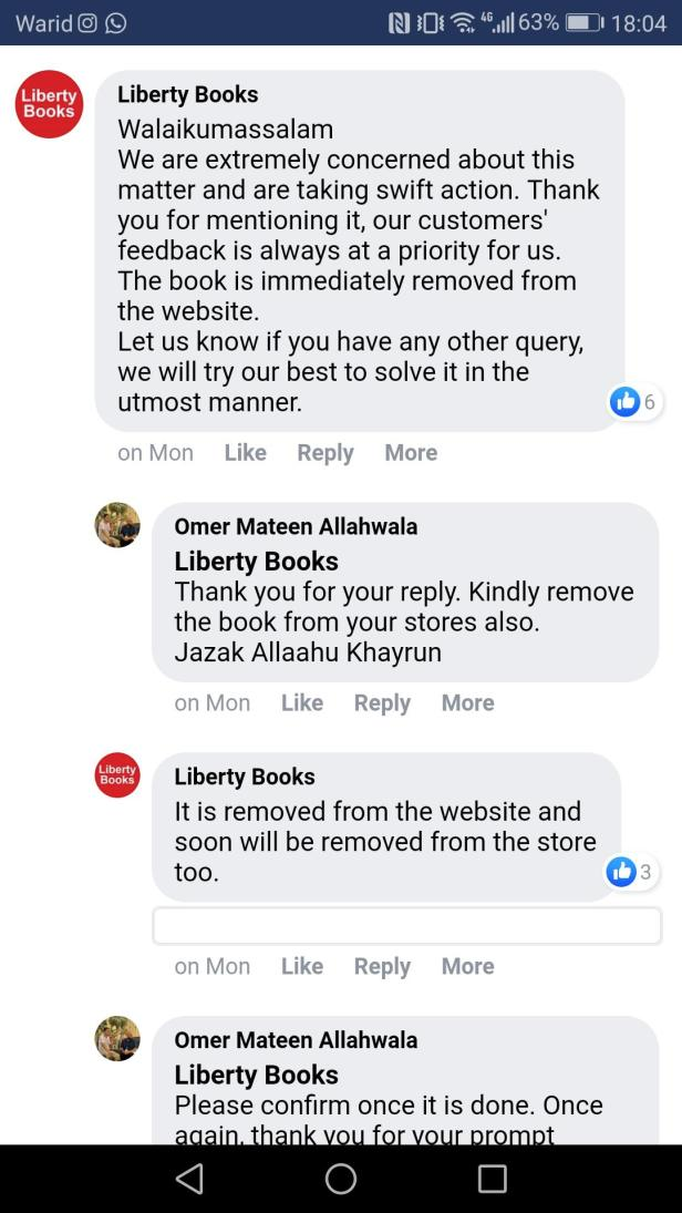 liberty-books-response