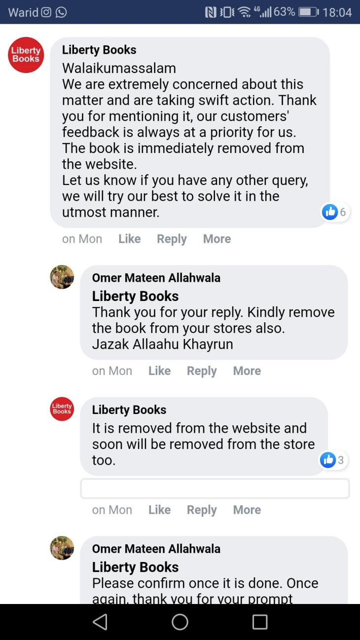 liberty-books-response